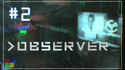 прохождение Observer